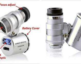 карманный-микроскоп со светодиодной подсветкой