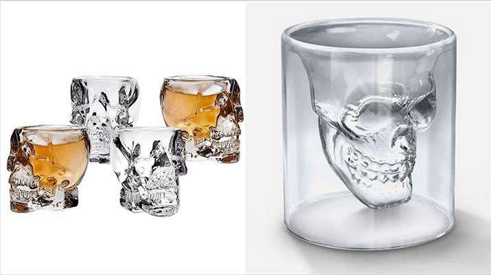 стакан в виде черепа