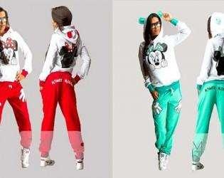 спорт-костюм-минни маус
