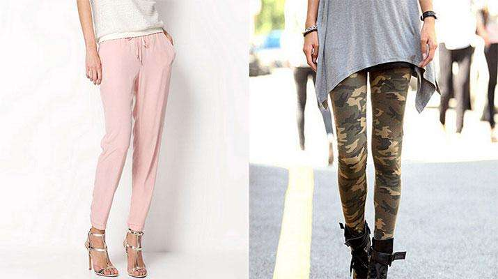 Фото: Женские брюки на Алиэкспресс