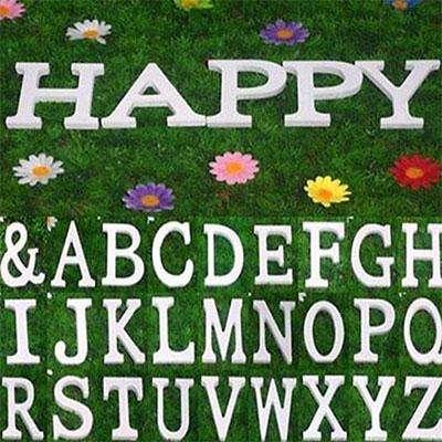 Декоративные буквы на свадьбу