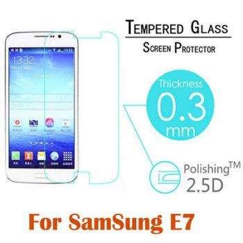 Защитное стекло для samsung galaxy e7