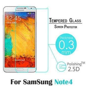Защитное стекло для samsung galaxy note 4