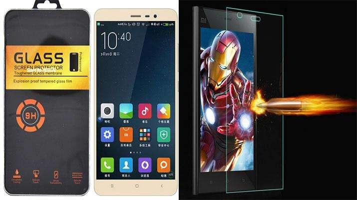 Фото: Защитные стекла для смартфонов Xiaomi