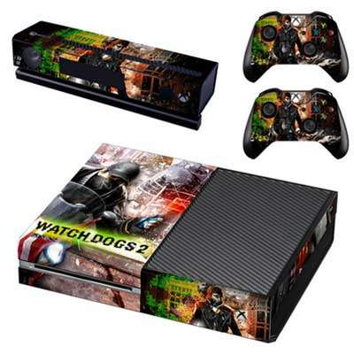Наклейка Watch Dogs 2 для Xbox one