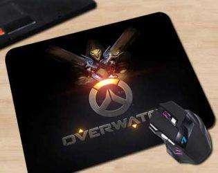 Коврик для мышки с логотипом Overwatch 3
