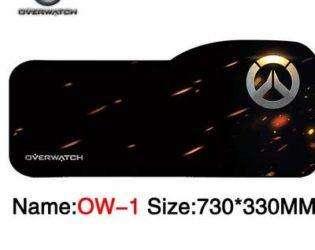 Коврик для мышки с логотипом Overwatch