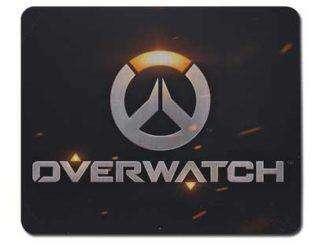 Коврик для мышки с логотипом Overwatch 2