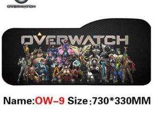 Коврик с персонажами Overwatch 5