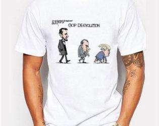 Дональд трамп футболка деградация