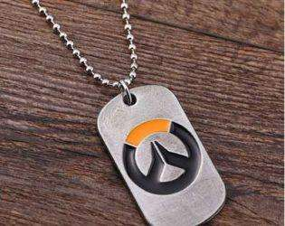 Ожерелье с логотипом Overwatch
