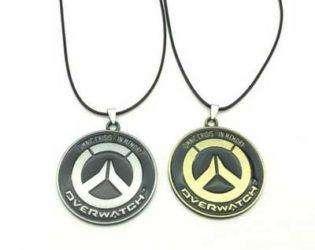 металлические ожерелья с логотипом игры