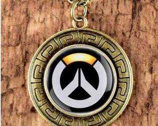 Старинный улон с логотипом Overwatch