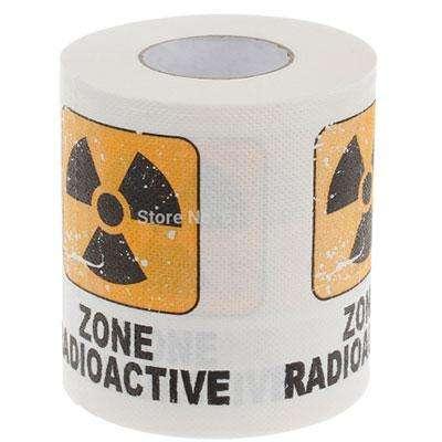 Радиоактивная туалетная бумага