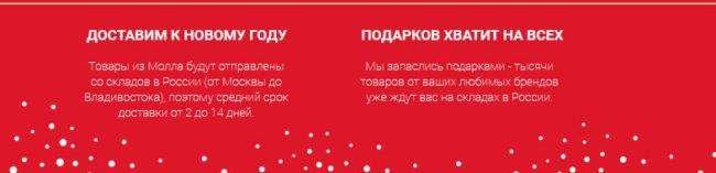 Распродажа на новый год в МОЛЛ