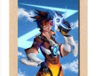Плакат Трейсер Overwatch