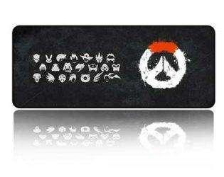 Коврик для мышки с логотипом Overwatch 4