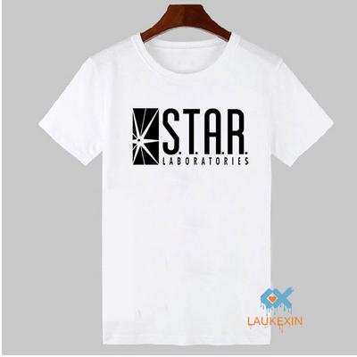 Белая футболка Star Labs