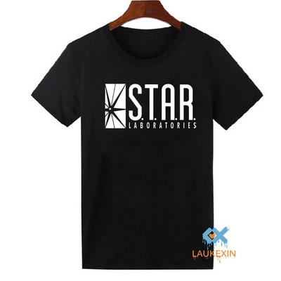Черная футболка Star Labs