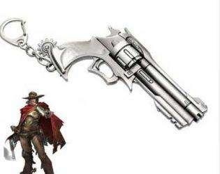 Брелок в виде револьвера Маккри