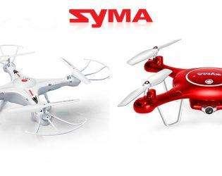 Бренд фокус SYMA - распродажа квадрокоптеров