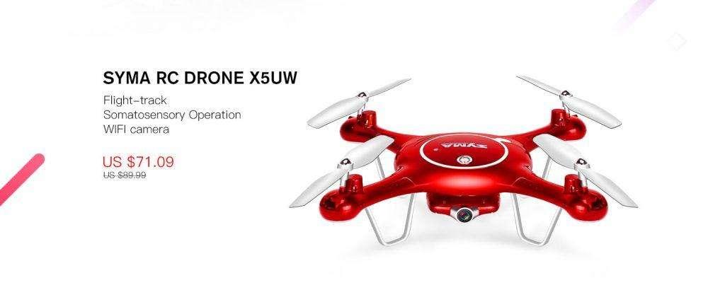 SYMA RC DRONE X5UW