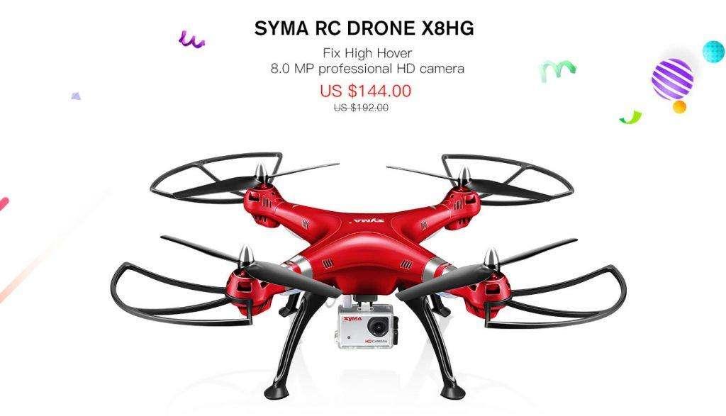 SYMA RC DRONE X8HG
