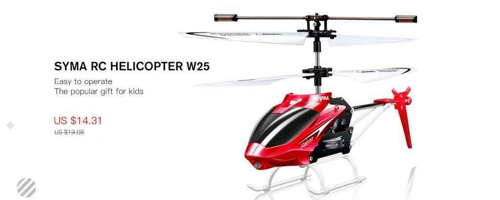 SYMA RC HELICOPTER W25