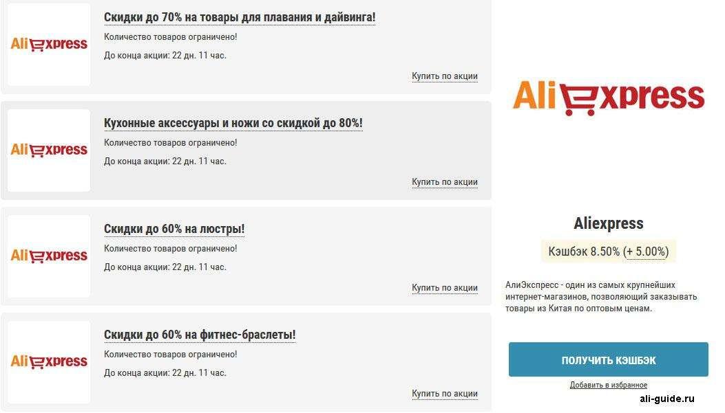 Какой кэшбэк для AliExpress лучше Сравнение 5 ведущих