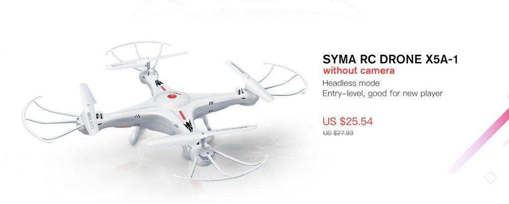 SYMA RC DRONE X5A-1
