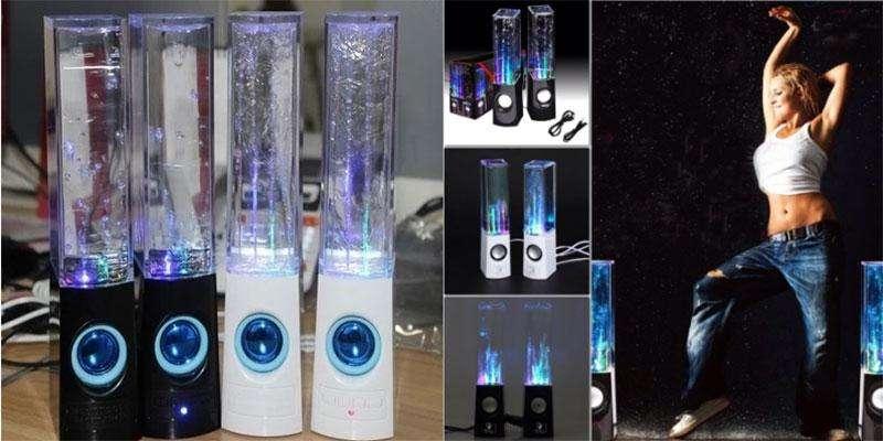 Колонки с фонтанчиками