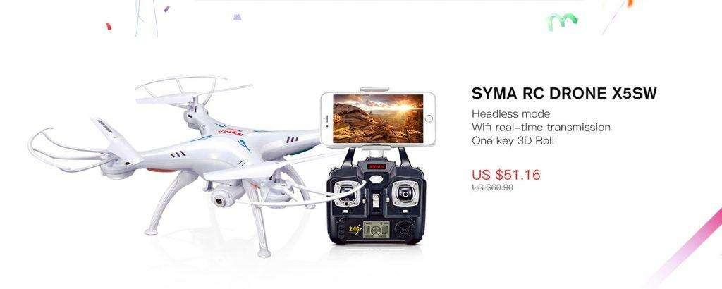 SYMA RC DRONE X5SW