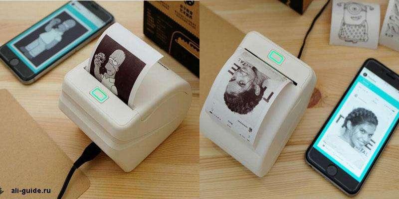 Термо-принтер для смартфона