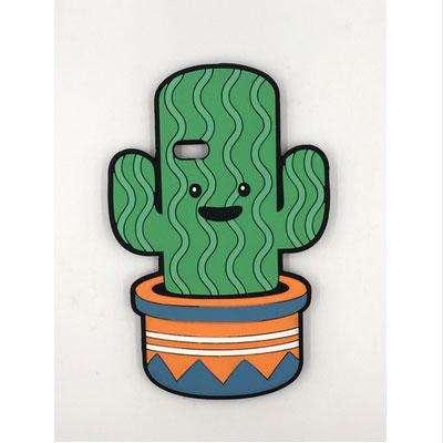 кактус в горшке