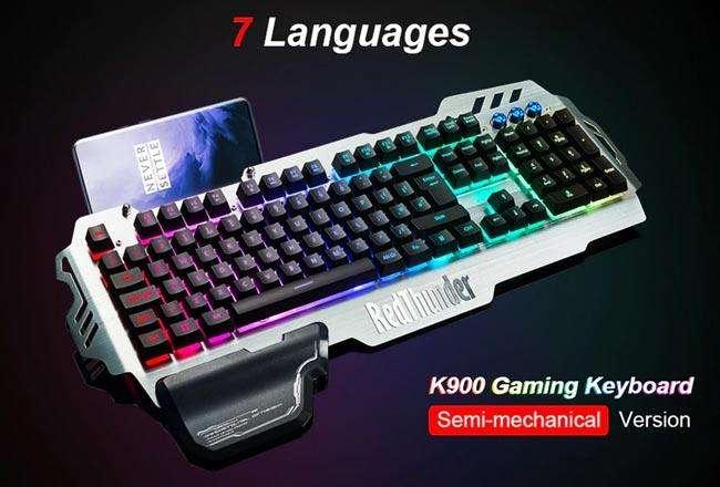 Клавиатура с подсветкой RedThunder K900 RGB