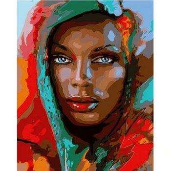 Женщина в платке
