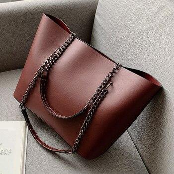 Дизайнерская сумка на плечо из искусственной кожи - LEFTSIDE