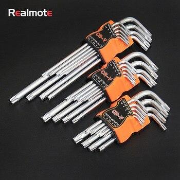 Набор шестигранных ключей L-Type (звездочка) от Realmote