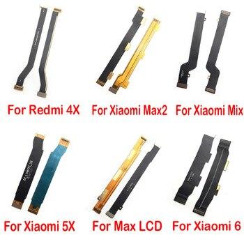 Новая материнская плата, ЖК-разъем, гибкий кабель, лента для Xiaomi mi 4c 4i 5X 6 6X Max Max2 Mix 2 2S Note 3 Pocophone F1