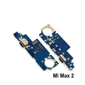 Новый модуль микрофона + плата USB зарядного порта, запасные части гибкого кабеля для Xiaomi Max 2 3