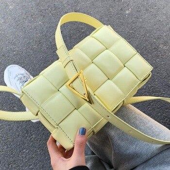 Плетеная сумка с клапаном Remiel 556
