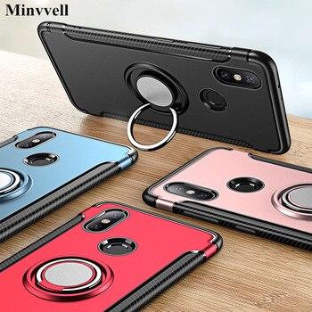 Защитный чехол для Xiomi Xiaomi Mi A1, жесткий чехол с магнитным кольцом, защитный чехол для Xiomi Xiaomi Mi A2 Lite 6X 8 5x Max 3, чехол