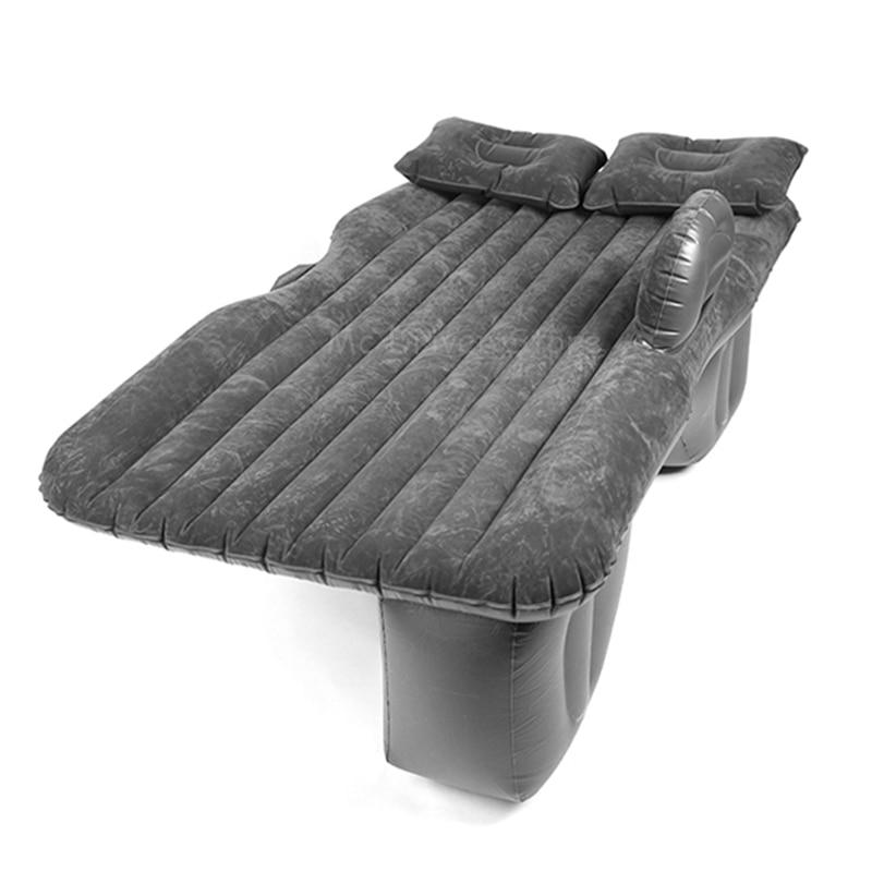 Автомобильный воздушный надувной матрас, автомобильная дорожная кровать, диван для кемпинга, подушка для отдыха на заднем сиденье, универс...