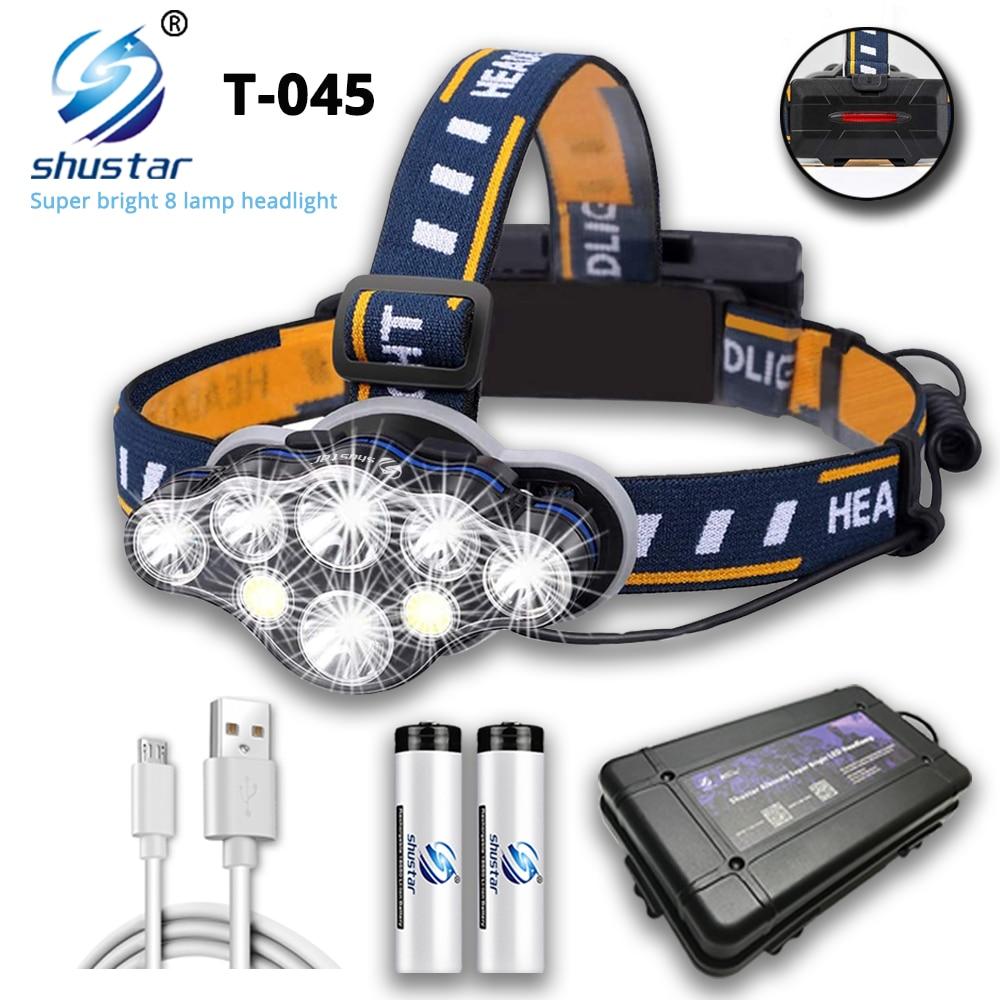 Cветодиодный налобный фонарь Shustar T-045