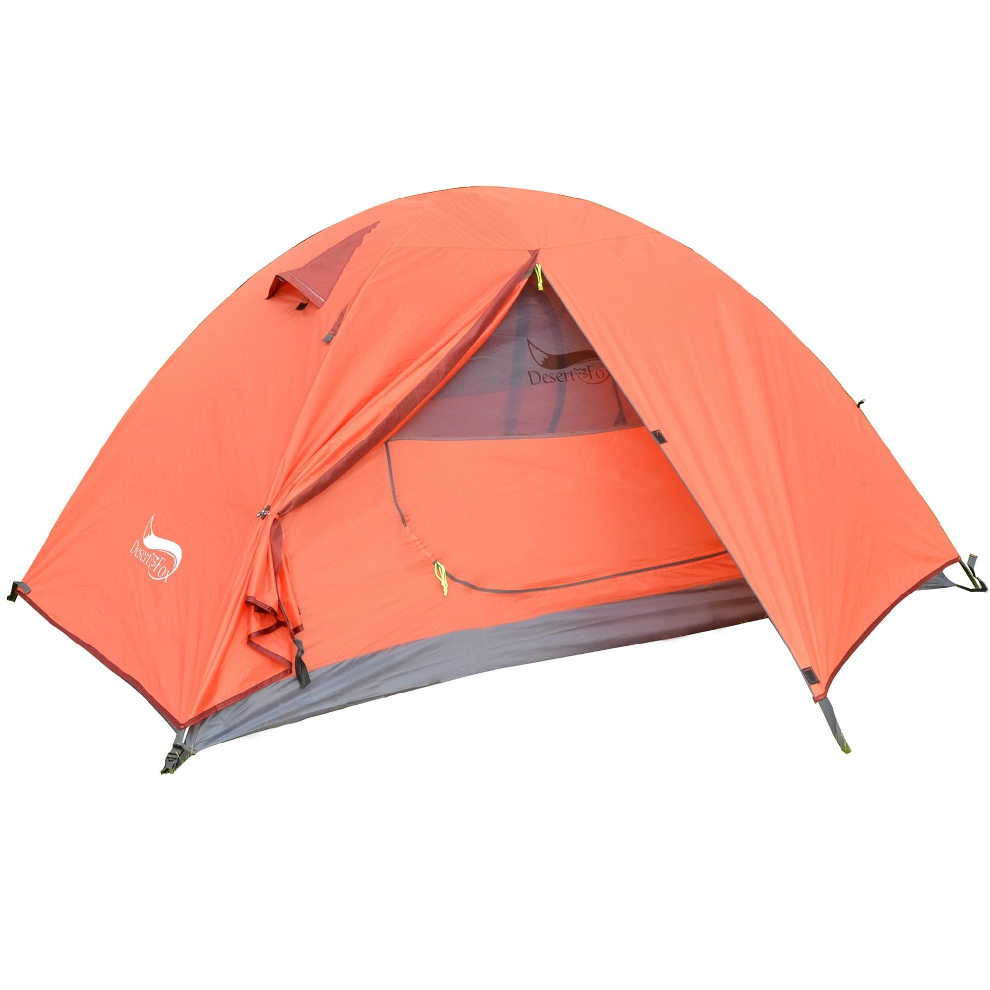 Desert & Fox - легкая двухслойная водонепроницаемая палатка на 1-2 человек