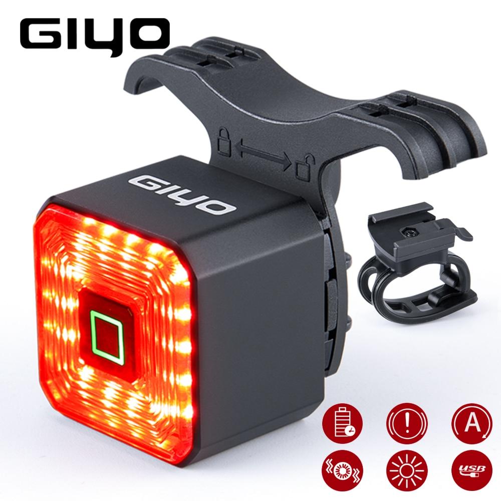GIYO GY-01 Taillight - аккумуляторный велофонарь
