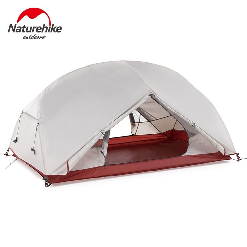 Палатка Naturehike Mongar на 1, 2, 3 человек, двухслойная водонепроницаемая.