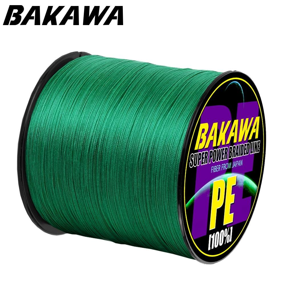 Плетеная леска BAKAWA. Диаметр: 0,2 мм-0,42 мм.