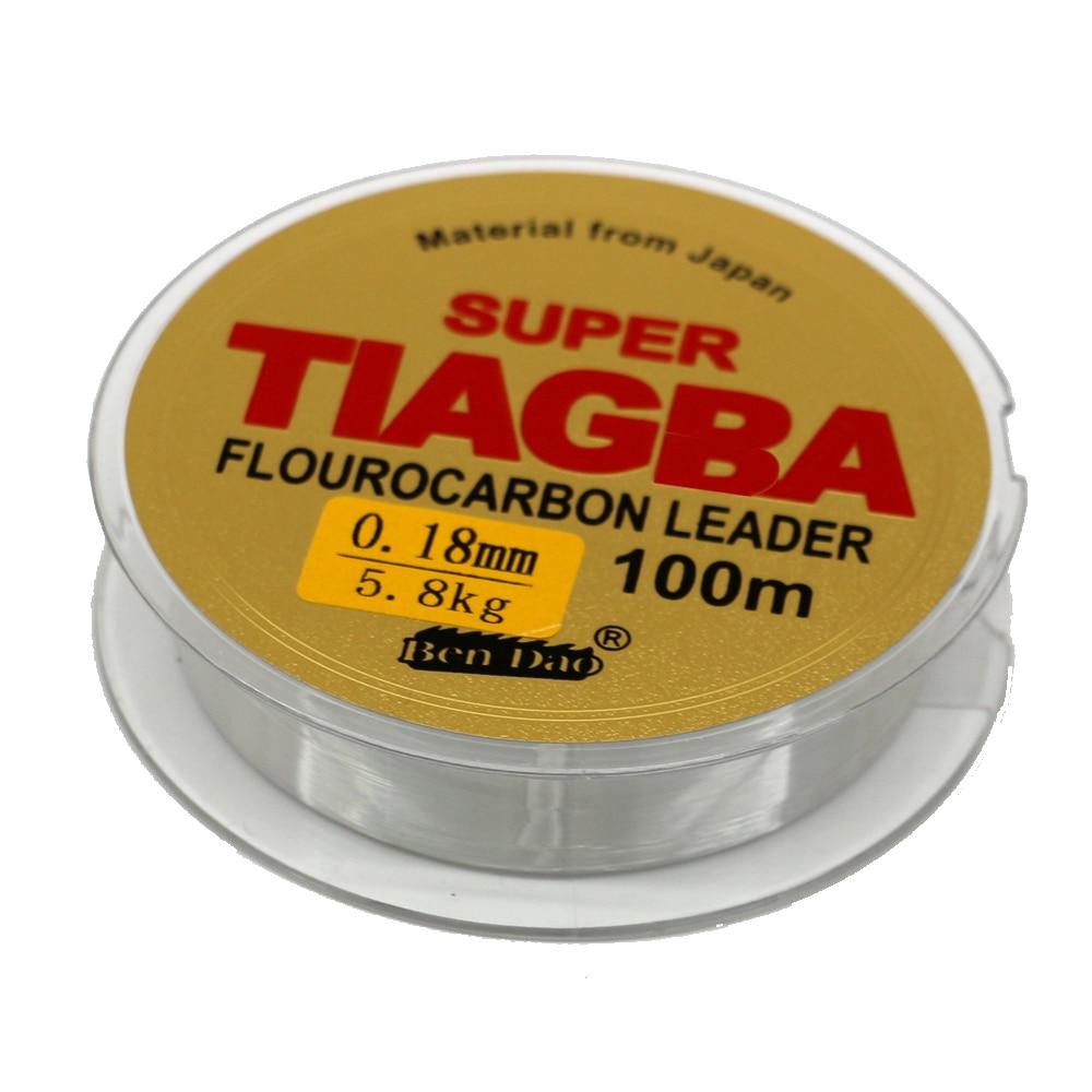 Леска с фторуглеродным покрытием Super Taigba