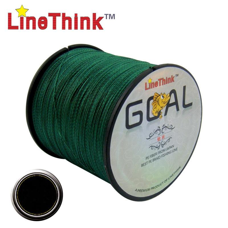 Рыболовная плетеная леска LineThink GOAL